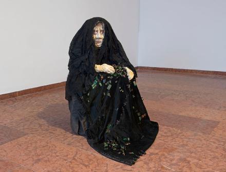 Hejettes Szomlyazók: Segesvár, 1990 (Fotó: Mester Tibor / Magyar Nemzeti Galéria)