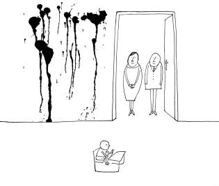 2-3. Réber László karikatúrái
